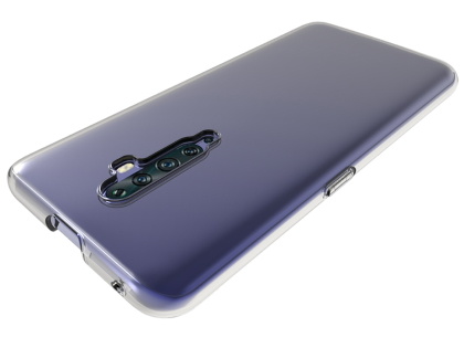 Ultra Thin Gel Case for OPPO Reno2 Z - Clear Soft Cover