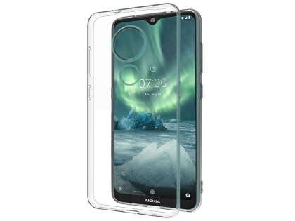 Ultra Thin Gel Case for Nokia 7.2 - Clear Soft Cover