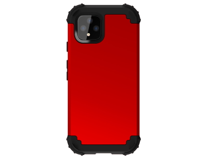 Defender Case for Google Pixel 4 - Red Impact Case