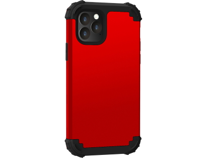 Defender Case for iPhone 11 - Red Impact Case