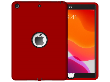 Impact Case for iPad 7th Gen - Red/Black Impact Case