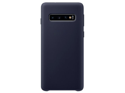 Silicone Case for Samsung Galaxy S10 - Blue Soft Cover