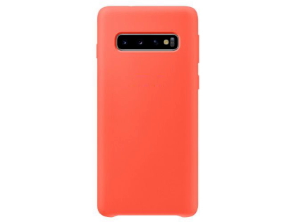 Silicone Case for Samsung Galaxy S10 - Red Soft Cover
