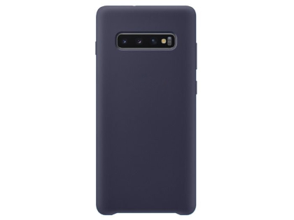 Silicone Case for Samsung Galaxy S10+ - Blue Soft Cover