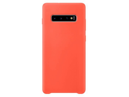 Silicone Case for Samsung Galaxy S10+ - Red Soft Cover