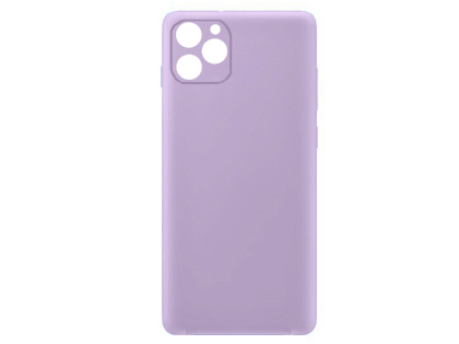 Silicone Case for Apple iPhone 11 - Purple Soft Cover