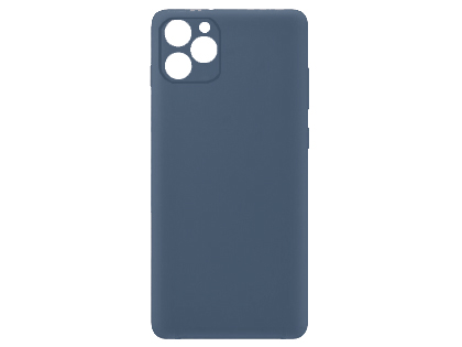 Silicone Case for Apple iPhone 11 - Blue Soft Cover