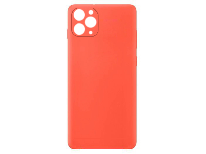 Silicone Case for Apple iPhone 11 Pro Max - Red Soft Cover