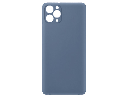 Silicone Case for Apple iPhone 11 Pro Max - Blue Soft Cover