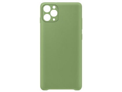 Silicone Case for Apple iPhone 11 Pro Max - Green Soft Cover