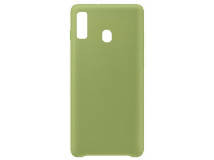 Silicone Case for Samsung Galaxy A20 - Green Soft Cover