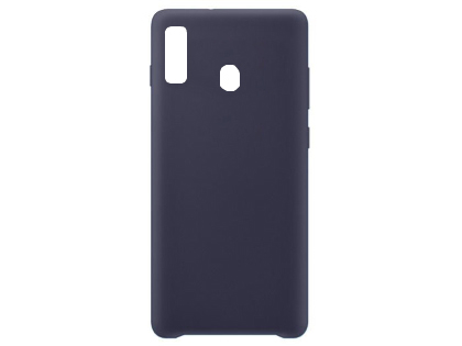 Silicone Case for Samsung Galaxy A20 - Blue Soft Cover