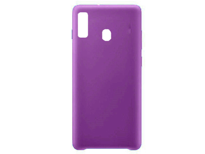 Silicone Case for Samsung Galaxy A20 - Purple Soft Cover
