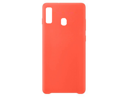 Silicone Case for Samsung Galaxy A20 - Red Soft Cover