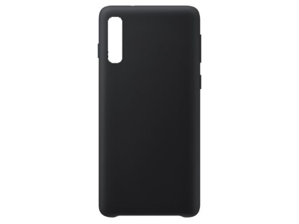 Silicone Case for Samsung Galaxy A50 - Black Soft Cover