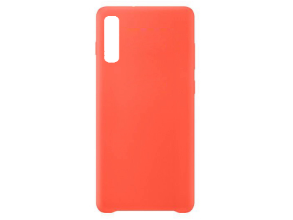 Silicone Case for Samsung Galaxy A50 - Red Soft Cover