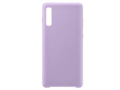 Silicone Case for Samsung Galaxy A50 - Purple Soft Cover