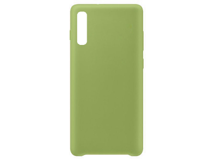 Silicone Case for Samsung Galaxy A50 - Green Soft Cover