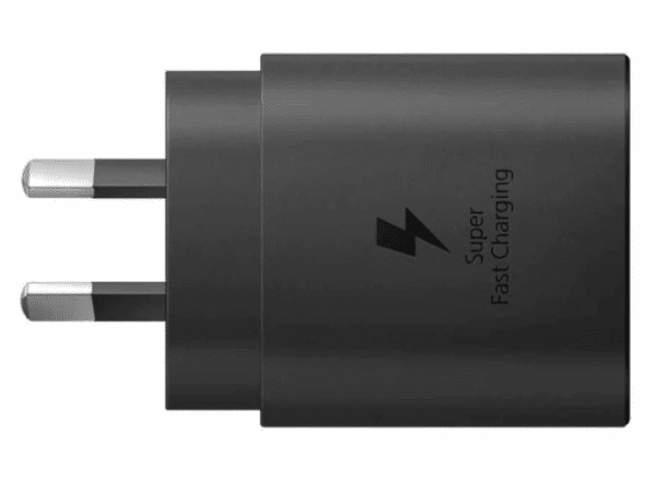 Genuine Samsung 25W USB-C Super Fast Charger Adapter - Black AC USB Power Adapter