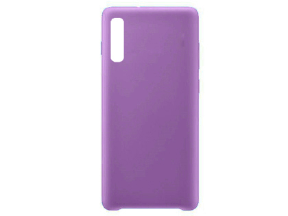 Silicone Case for Samsung Galaxy A90 5G - Purple Soft Cover