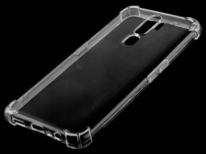 Gel Case with Bumper Edges for OPPO A5 (2020) - Clear Soft Cover