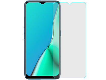 Flat Tempered Glass Screen Protector for Oppo A5 (2020) - Screen Protector