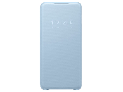 Genuine Samsung Galaxy S20+ Smart LED View Cover - Blue S View Cover
