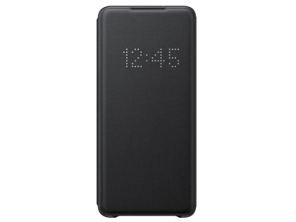 Genuine Samsung Galaxy S20 Ultra Smart LED View Cover - Black S View Cover
