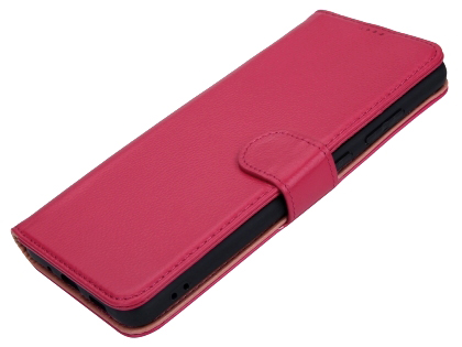 Premium Leather Wallet Case for Samsung Galaxy S20+ - Pink
