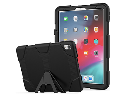 Rugged Impact Case for Apple iPad Pro 12.9 (2018) - Classic Black Impact Case