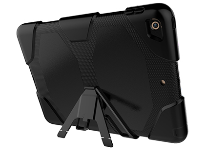 Rugged Impact Case for Apple iPad 9.7 (2018/2017) - Classic Black Impact Case