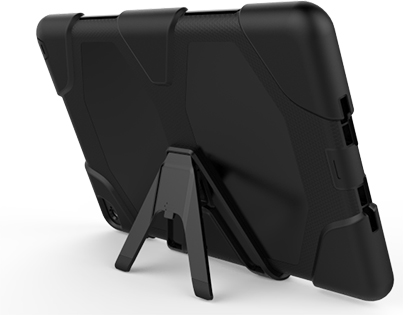 Rugged Impact Case for Apple iPad Air 2 - Classic Black Impact Case