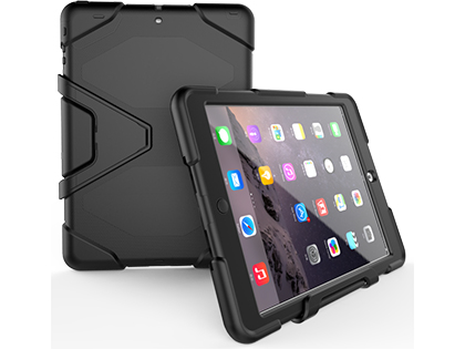 Rugged Impact Case for Apple iPad Air - Classic Black Impact Case