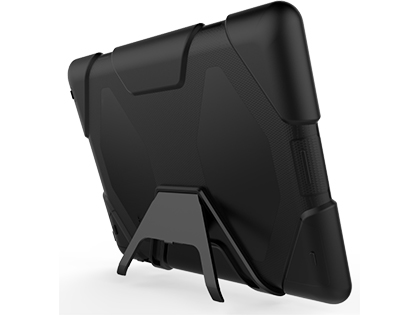 Rugged Impact Case for Apple iPad 2/3/4 - Classic Black Impact Case