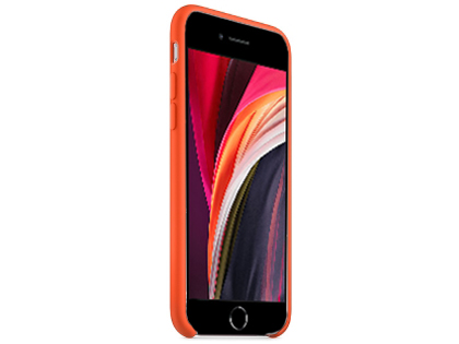 Silicone Case for Apple iPhone SE (2020) - Orange