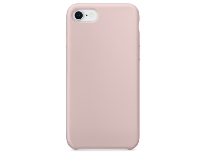 Silicone Case for Apple iPhone SE (2020) - Pink Sand Soft Cover