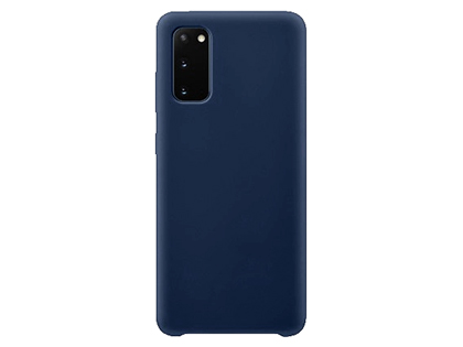 Silicone Case for Samsung Galaxy S20 - Blue Soft Cover