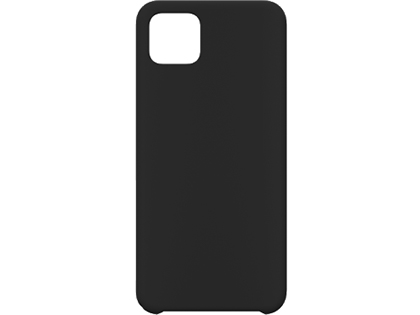 Silicone Case for Google Pixel 4 - Black Soft Cover
