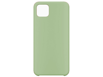 Silicone Case for Google Pixel 4 - Green Soft Cover
