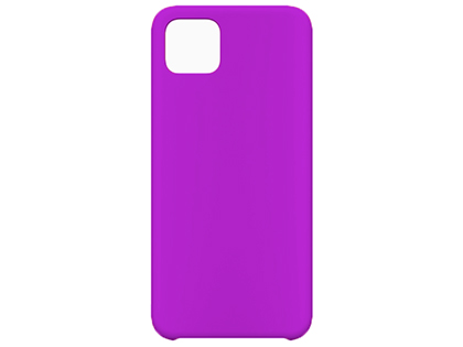 Silicone Case for Google Pixel 4 - Purple Soft Cover