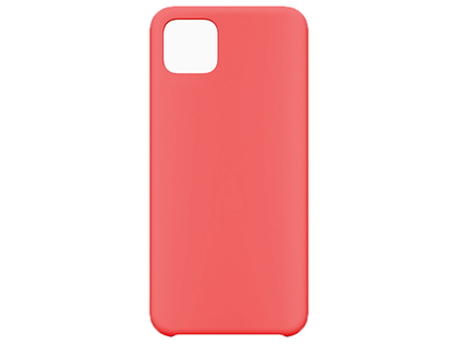 Silicone Case for Google Pixel 4 - Red Soft Cover