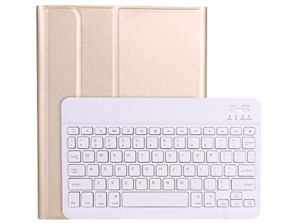 Keyboard and Case for iPad Pro 12.9 (2020) - Gold Keyboard