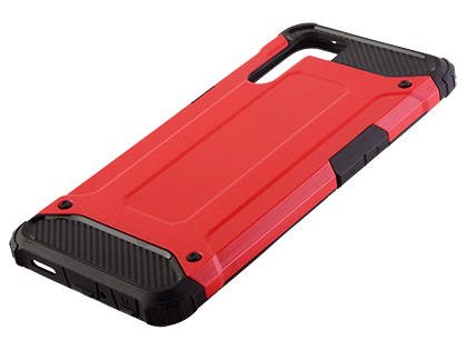 Impact Case for OPPO A91 - Red Impact Case