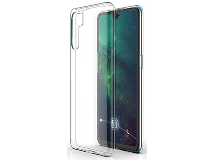 Ultra Thin Gel Case for OPPO A91 - Clear Soft Cover