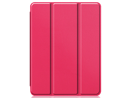 Premium Slim Synthetic Leather Flip Case with Stand for iPad Pro 11 (2020) - Pink