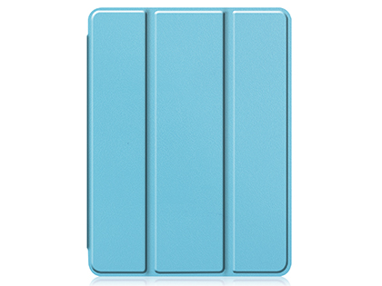 Premium Slim Synthetic Leather Flip Case with Stand for iPad Pro 11 (2020) - Blue
