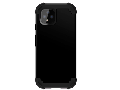 Defender Case for Google Pixel 4 - Black Impact Case