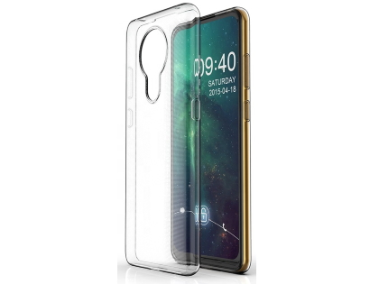 Ultra Thin Gel Case for Nokia 5.3 - Clear Soft Cover