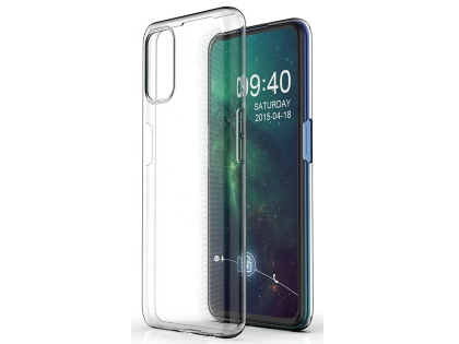 Ultra Thin Gel Case for OPPO A72 - Clear Soft Cover