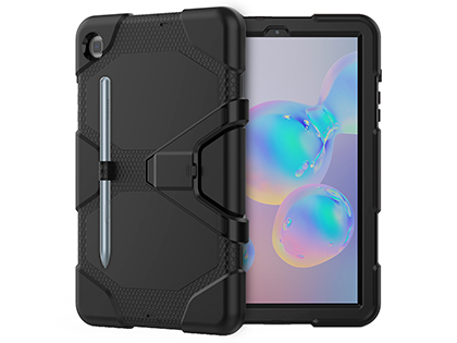 Rugged Impact Case for Samsung Galaxy Tab S6 Lite - Classic Black